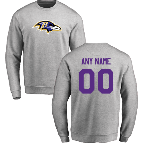 Mens Baltimore Ravens  Purple Big & Tall History T-Shirt