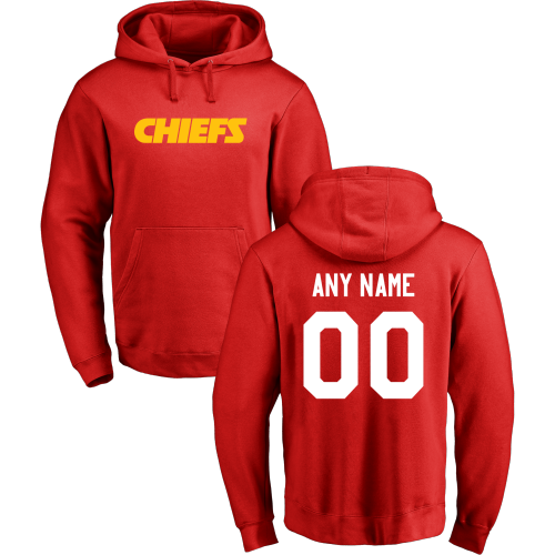 Mens Kansas City Chiefs Alex Smith Majestic Red Eligible Receiver II Name & Number T-Shirt