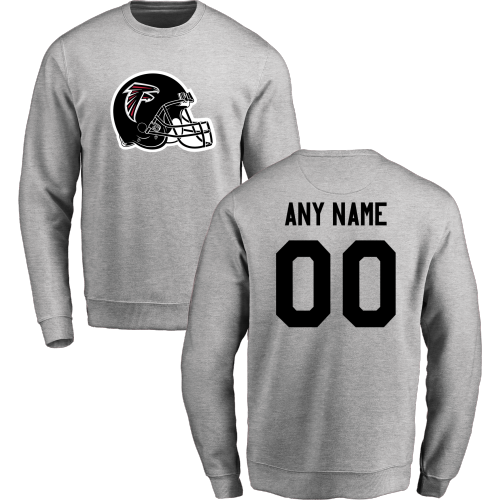 Men's Atlanta Falcons Design Your Own Crewneck Sweatshirt