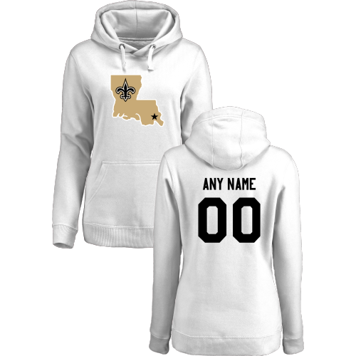 Women's New Orleans Saints Design Your Own Pullover Hoodie