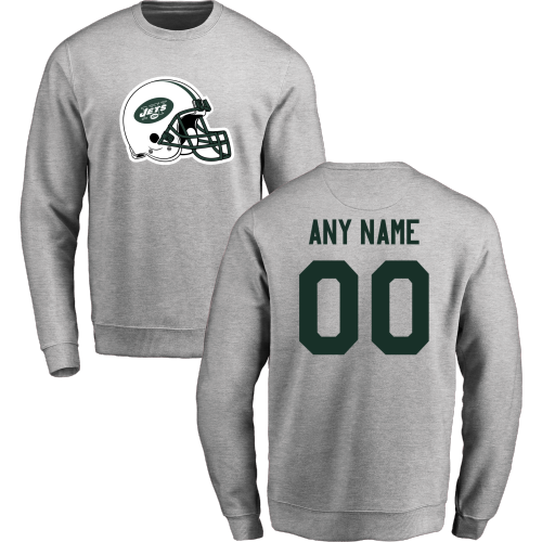 Men's New York Jets Design your Own Crewneck Sweatshirt