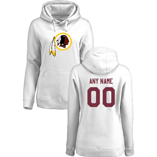 Women's Washington Redskins Design Your Own Pullover Hoodie