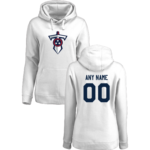 Women's Tennessee Titans Design Your Own Pullover Hoodie