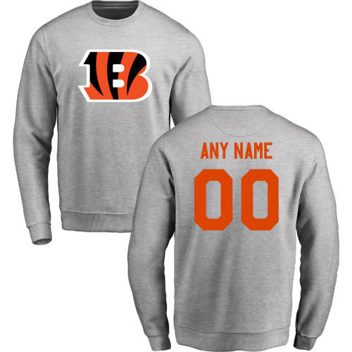 Men's Cincinnati Bengals Design Your Own Crewneck Sweatshirt