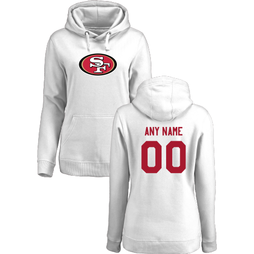 Women's San Francisco 49ers Design Your Own Pullover Hoodie