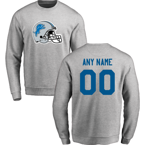 Men's Detroit Lions Design Your Own Crewneck Sweatshirt