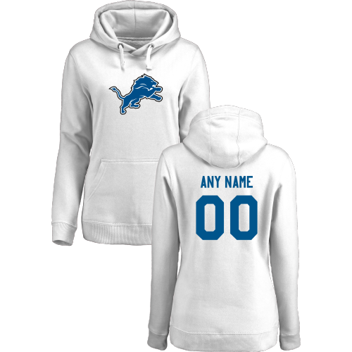 Women's Detroit Lions Design Your Own Pullover Hoodie