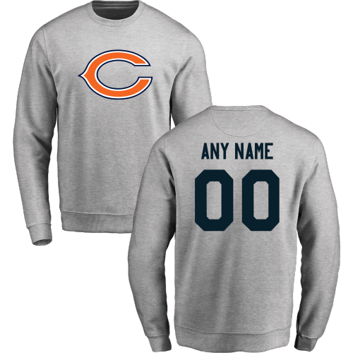 Men's Chicago Bears Design Your Own Crewneck Sweatshirt