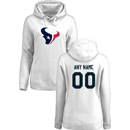 Women's Houston Texans Design Your Own Pullover Hoodie