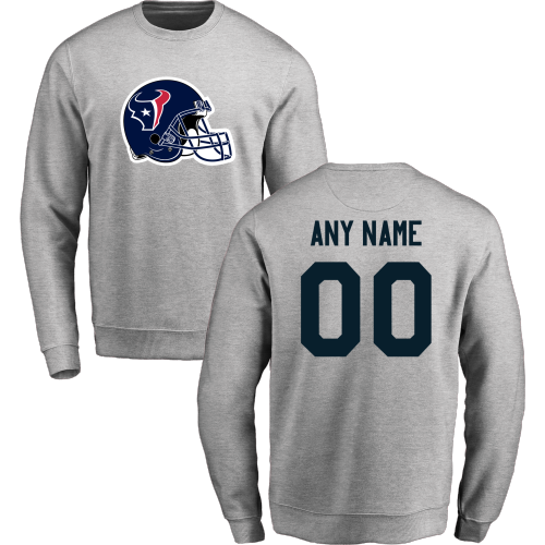 Men's Houston Texans Design your Own Crewneck Sweatshirt