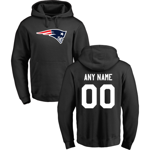 Men's New England Patriots Design Your Own Pullover Hoodie