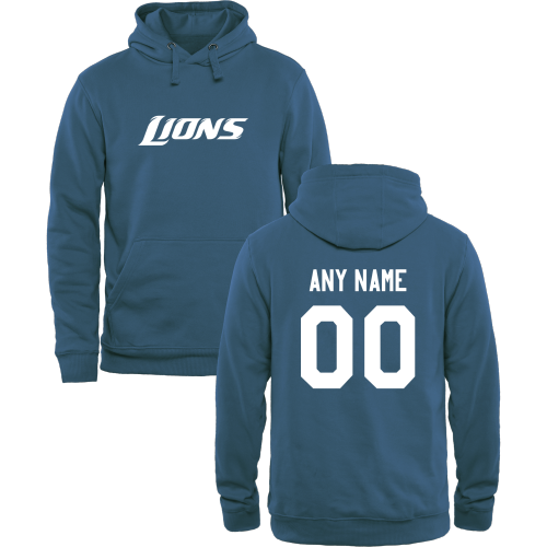 Men's Detroit Lions Design Your Own Pullover Hoodie