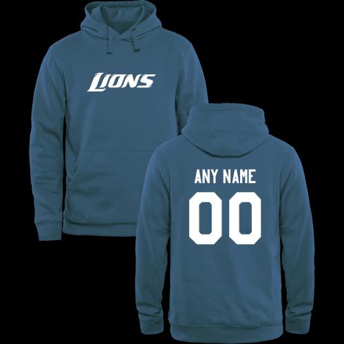 Men's Detroit Lions Design Your Own Pullover Hoodie