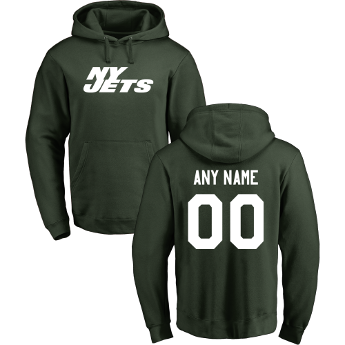 Men's New York Jets Design Your Own Pullover Hoodie