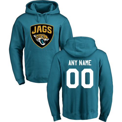 Men's Jacksonville Jaguars Design Your Own Pullover Hoodie